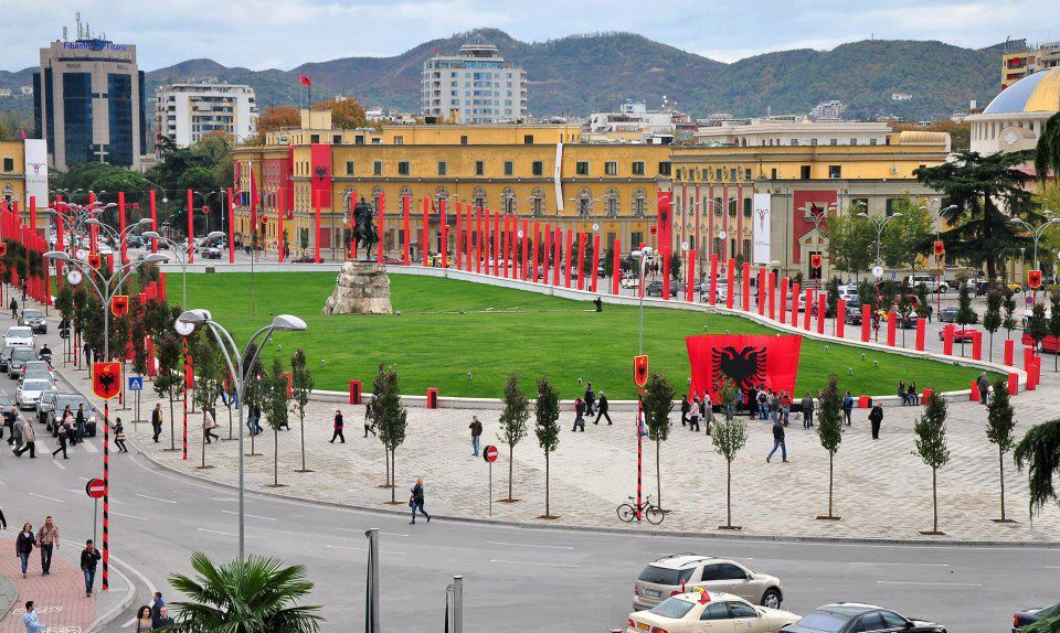 I 100 ANNI DELL'INDIPENDENZA DELL'ALBANIA - FOTO TIRANA